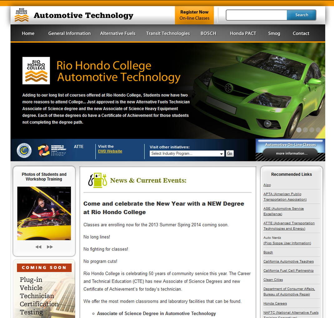 Rio Hondo Automotive Technology